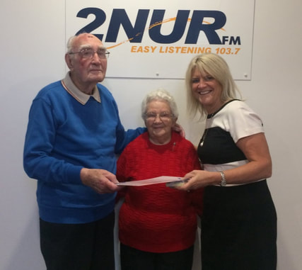 Ray and Nelda Hugo with Deborah Wright